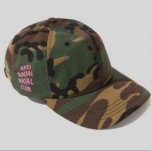 Anti Social Camo Hat
